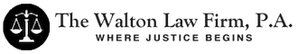 The Walton Law Firm, P.A. | Where Justice Begins Retina Logo
